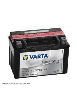 Batería de moto Varta Powersports AGM 50812 YTX9-BS