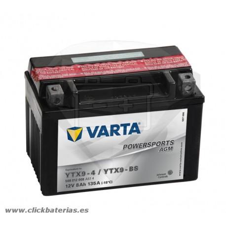Bateria Varta Powersports AGM 50812 - YTX9-BS