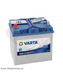 Batería de coche Varta D48 Blue Dynamic 60 Ah