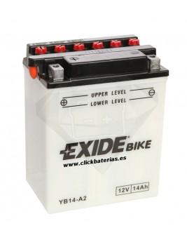 Batería de moto Exide Conventional YB14-A2