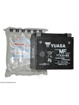 Batería de moto YUASA YTX20-BS