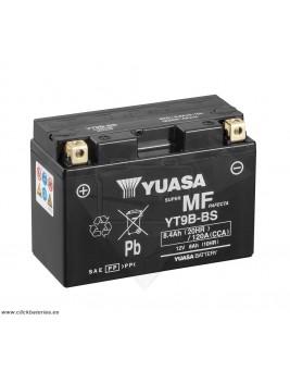Batería de moto YUASA YT9B-BS